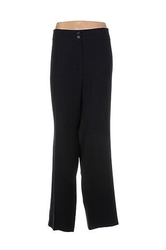 lebek pantalons et decontractes femme de couleur noir