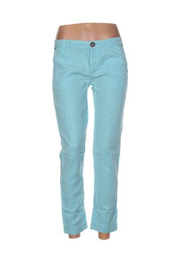 banana moon pantalons femme de couleur bleu