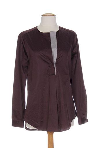 eterna chemises femme de couleur violet