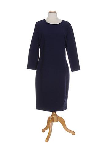 gant robes femme de couleur bleu
