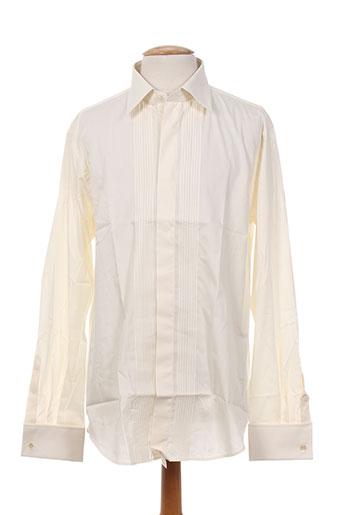 bm chemises homme de couleur beige