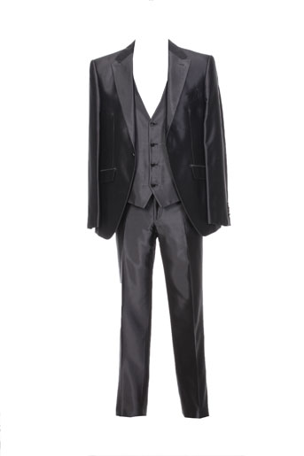 Veste/pantalon gris CARLO PIGNATELLI pour homme