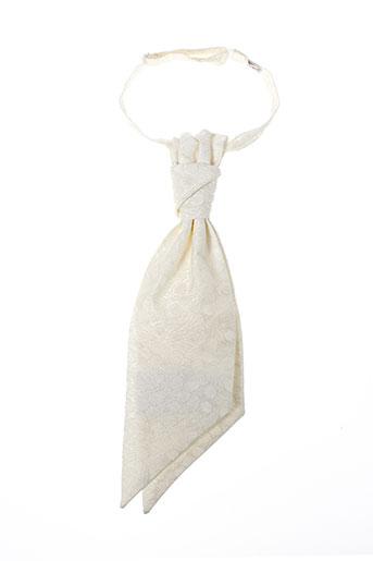 pal zileri accessoires homme de couleur blanc