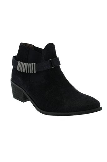 ayame boots femme de couleur bleu