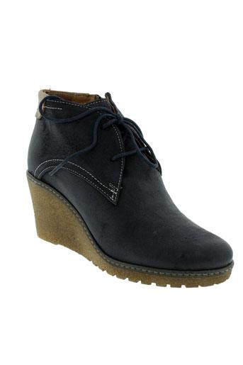 arima boots femme de couleur bleu