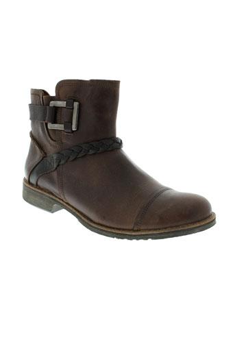 tbs boots femme de couleur marron