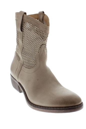 catarina et martins boots homme de couleur beige