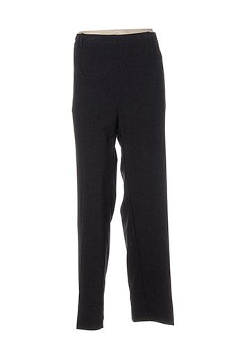 pier bé pantalons femme de couleur gris