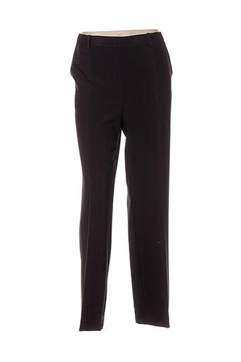 pier bé pantalons femme de couleur marron