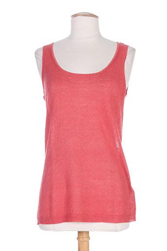 gerard darel t-shirts femme de couleur rouge