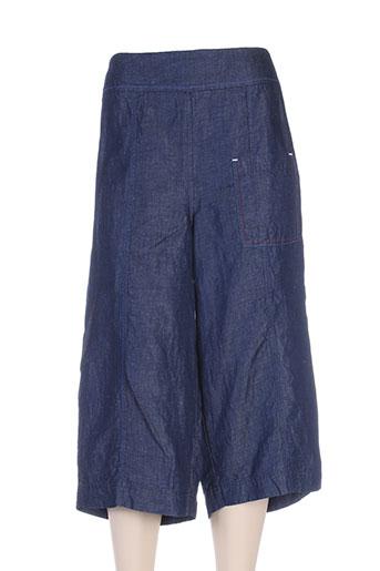 crea concept pantacourts femme de couleur bleu