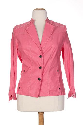 anne kelly vestes femme de couleur rose