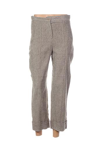 lilith pantalons femme de couleur marron