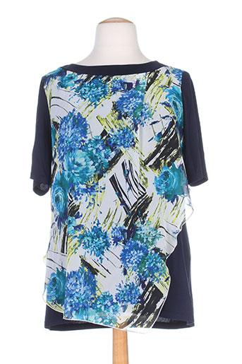 ko.moda tuniques femme de couleur bleu