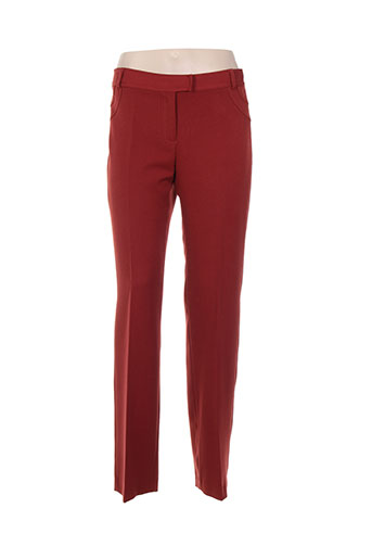 lorena paris pantalons femme de couleur orange