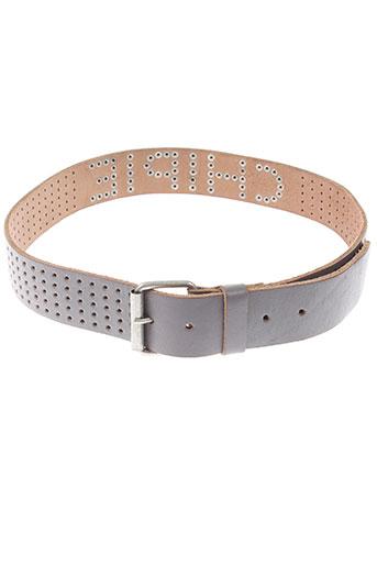 chipie ceintures femme de couleur gris