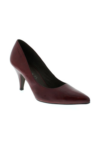 tamaris escarpins femme de couleur rouge
