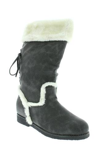 weide bottes femme de couleur gris