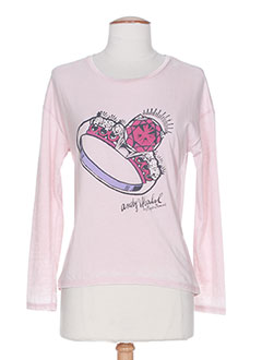 Produit-T-shirts / Tops-Fille-ANDY WARHOL BY PEPE JEANS