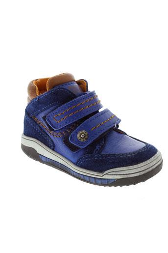 acebos baskets garcon de couleur bleu