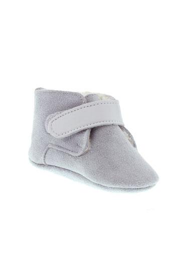 shooshoos chaussures garçon de couleur gris