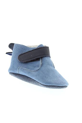 shooshoos chaussures garçon de couleur bleu