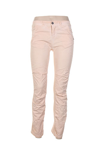 so et soon pantalons et decontractes femme de couleur rose