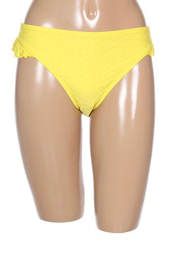 cleo by panache maillots de bain femme de couleur jaune