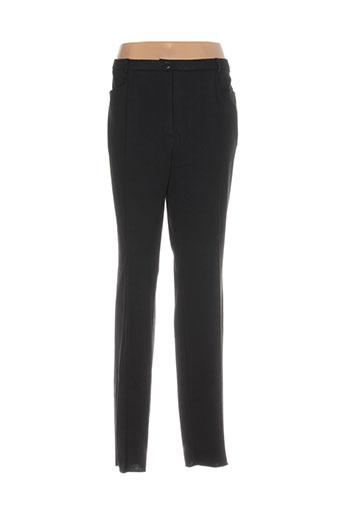 pauporté pantalons femme de couleur noir