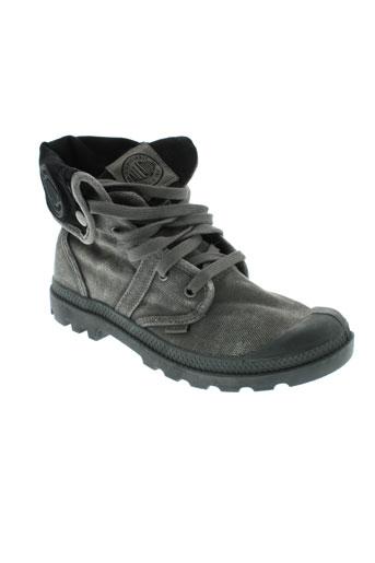 palladium boots homme de couleur gris