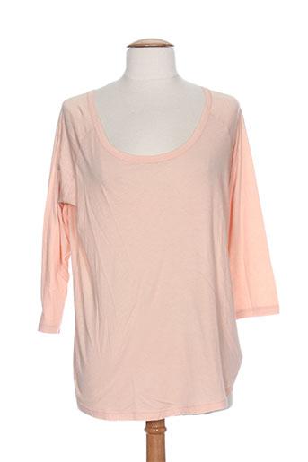 american vintage t et shirts et tops femme de couleur orange