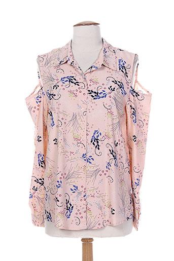 purple's chemises femme de couleur rose
