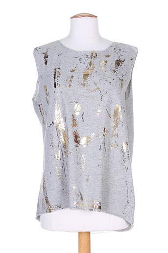 deha chemises femme de couleur gris
