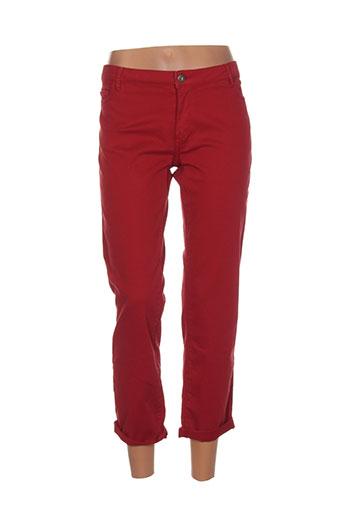 cop copine jeans femme de couleur rouge