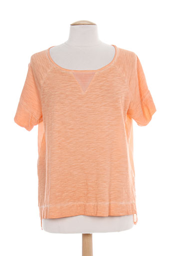 paz torras chemises femme de couleur orange