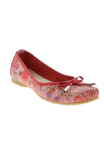 pedro torres chaussures femme de couleur rouge