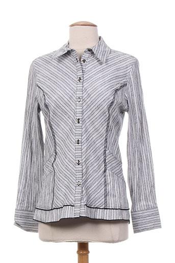 lewinger chemises femme de couleur gris