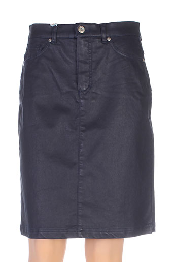 bruno saint hilaire jupes femme de couleur bleu