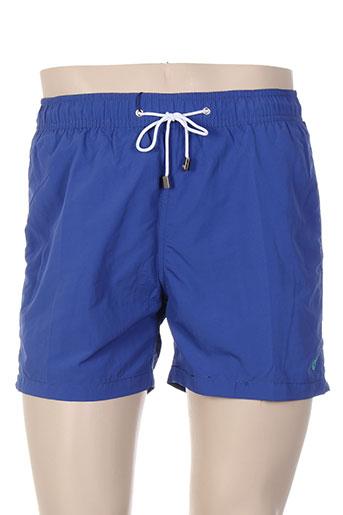 forecast maillots de bain homme de couleur bleu