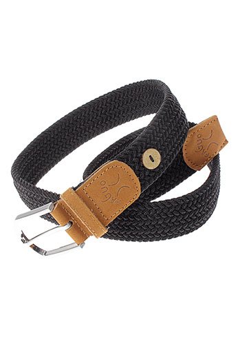 faguo ceintures femme de couleur noir