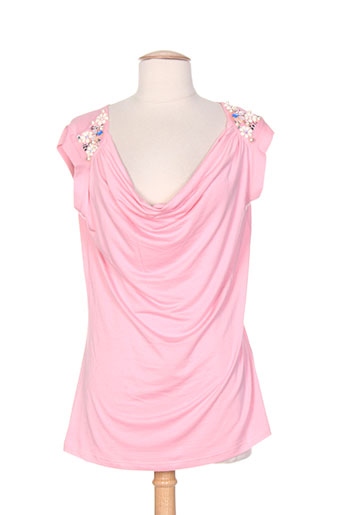 aquajeans chemises femme de couleur rose
