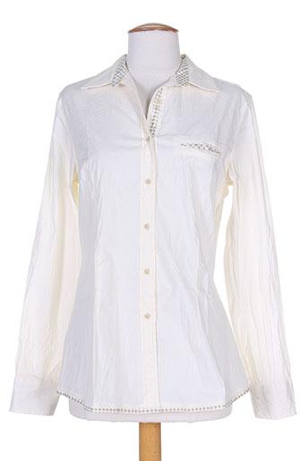 gaia boldetti chemises femme de couleur beige