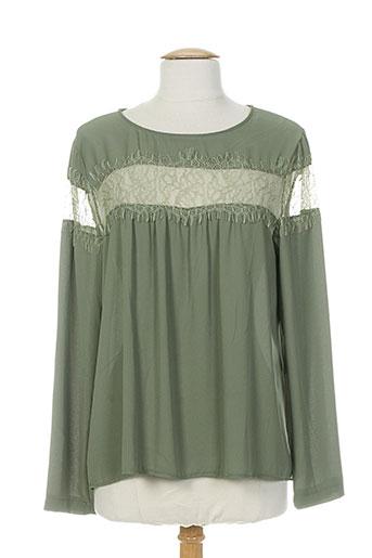 scarlet roos chemises femme de couleur vert