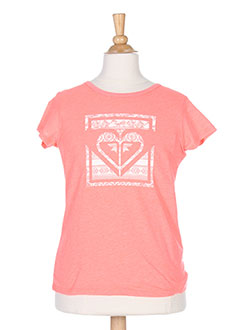 Produit-T-shirts / Tops-Fille-ROXY GIRL