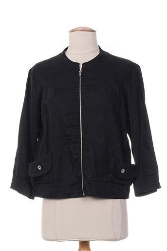 maloka vestes femme de couleur noir