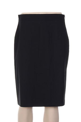 Jupe mi-longue noir BLACK LABEL pour femme