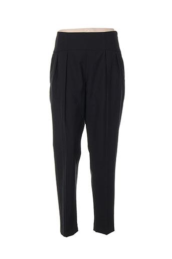 Pantalon chic noir BLACK LABEL pour femme