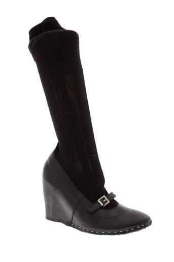 collection privee chaussures femme de couleur noir