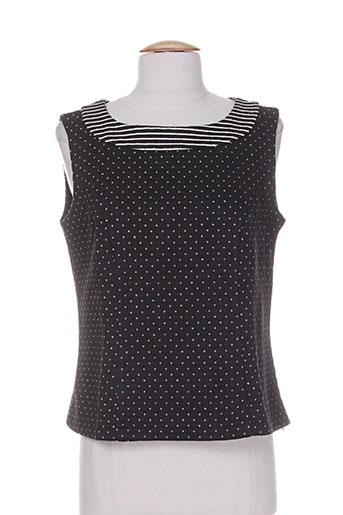 georgedé chemises femme de couleur noir