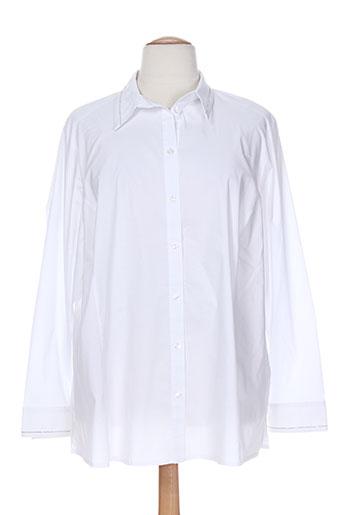 sempre chemises femme de couleur blanc